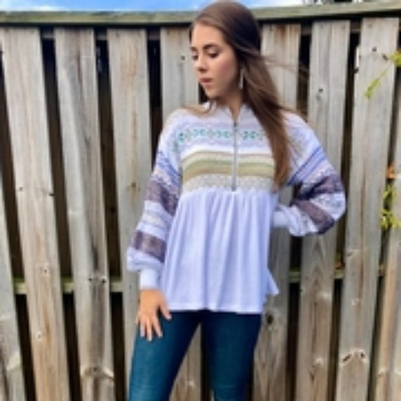🔥 NWT Free People Cozy Cottage Sweater